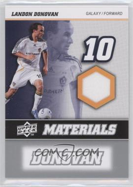 2008 Upper Deck MLS - MLS Materials #MM-18 - Landon Donovan