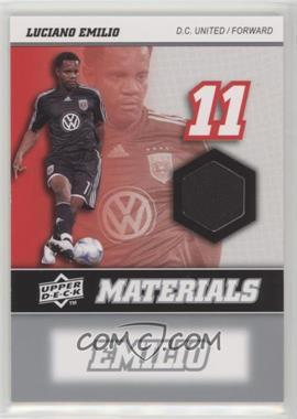 2008 Upper Deck MLS - MLS Materials #MM-19 - Luciano Emilio