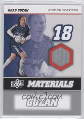 2008 Upper Deck MLS - MLS Materials #MM-2 - Brad Guzan