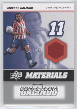 2008 Upper Deck MLS - MLS Materials #MM-21 - Maykel Galindo