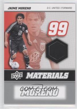 2008 Upper Deck MLS - MLS Materials #MM-22 - Jaime Moreno