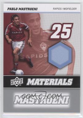 2008 Upper Deck MLS - MLS Materials #MM-25 - Pablo Mastroeni