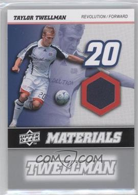 2008 Upper Deck MLS - MLS Materials #MM-30 - Taylor Twellman