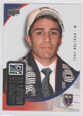 2008 Upper Deck MLS - Super Draft #SD-12 - Tony Beltran