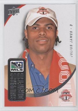 2008 Upper Deck MLS - Super Draft #SD-13 - Julius James