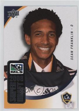 2008 Upper Deck MLS - Super Draft #SD-9 - Sean Franklin