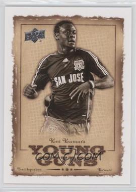 2008 Upper Deck MLS - Young Guns #YG-11 - Kei Kamara