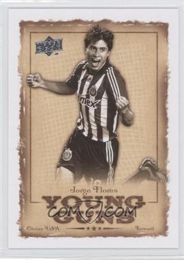 2008 Upper Deck MLS - Young Guns #YG-17 - Jorge Flores