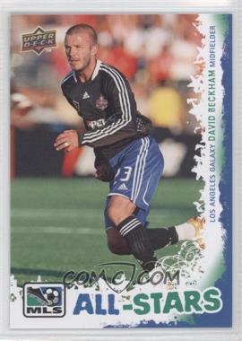 2009 Upper Deck MLS - All-Stars #AS-6 - David Beckham