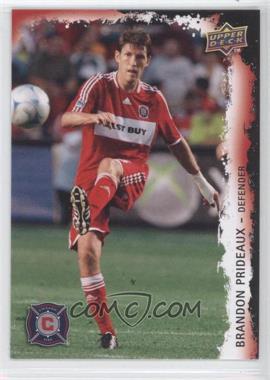 2009 Upper Deck MLS - [Base] #27 - Brandon Prideaux