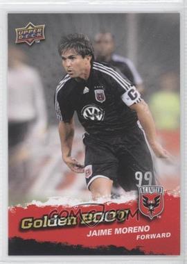 2009 Upper Deck MLS - Golden Boot #GB-7 - Jaime Moreno