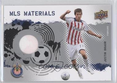 2009 Upper Deck MLS - Materials #MT-BR - Justin Braun