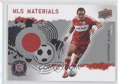2009 Upper Deck MLS - Materials #MT-CB - Cuauhtemoc Blanco