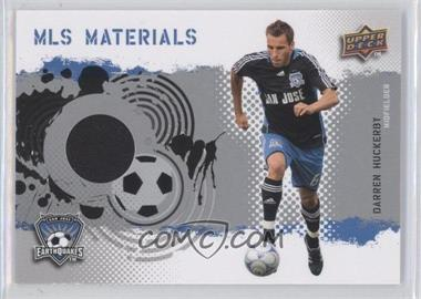 2009 Upper Deck MLS - Materials #MT-DH - Darren Huckerby