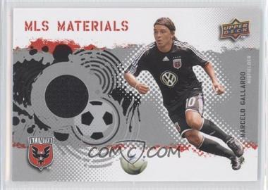 2009 Upper Deck MLS - Materials #MT-MG - Marcelo Gallardo