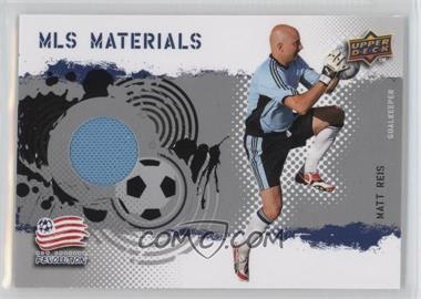 2009 Upper Deck MLS - Materials #MT-MR - Matt Reis