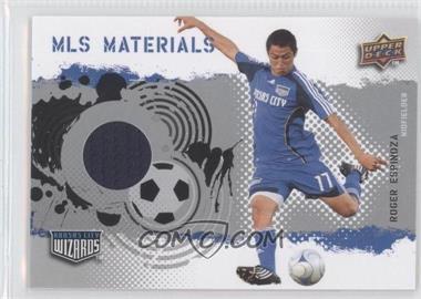 2009 Upper Deck MLS - Materials #MT-RE - Roger Espinoza
