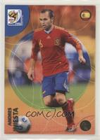 Andres Iniesta [EX to NM]