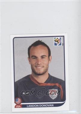 2010 Panini FIFA World Cup South Africa Album Stickers - [Base] #218 - Landon Donovan