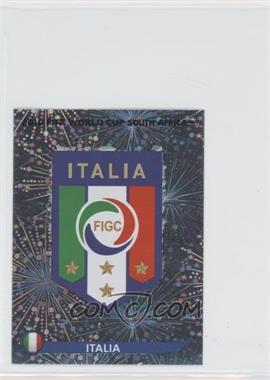 2010 Panini FIFA World Cup South Africa Album Stickers - [Base] #411 - Emblem - Italia