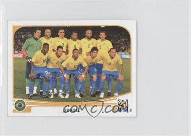 2010 Panini FIFA World Cup South Africa Album Stickers - [Base] #486 - Brasil