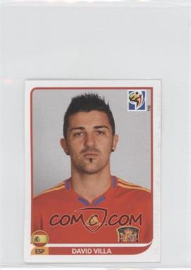 2010 Panini FIFA World Cup South Africa Album Stickers - [Base] #579 - David Villa
