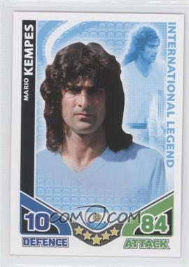 2010 Topps Match Attax South Africa World Cup UK Edition - International Legend #MAKE - Mario Kempes