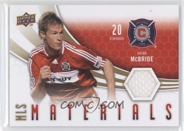 2010 Upper Deck - MLS Materials #M-BM - Brian McBride