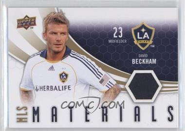 2010 Upper Deck - MLS Materials #M-DB - David Beckham