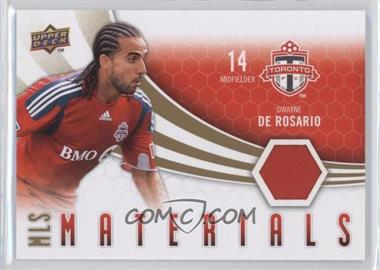 2010 Upper Deck - MLS Materials #M-DD - Dwayne De Rosario
