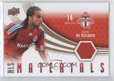 2010 Upper Deck - MLS Materials #M-DD - Dwayne De Rosario