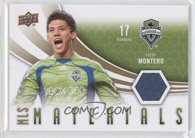2010 Upper Deck - MLS Materials #M-FM - Fredy Montero
