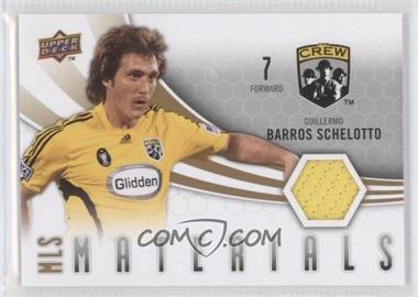 2010 Upper Deck - MLS Materials #M-GS - Guillermo Barros Schelotto