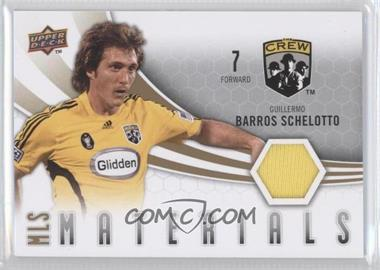 2010 Upper Deck - MLS Materials #M-GS - Guillermo Barros Schelotto