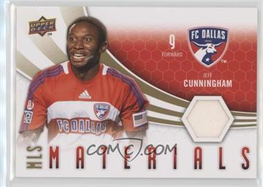 2010 Upper Deck - MLS Materials #M-JC - Jeff Cunningham