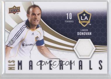 2010 Upper Deck - MLS Materials #M-LD - Landon Donovan