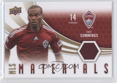2010 Upper Deck - MLS Materials #M-OC - Omar Cummings