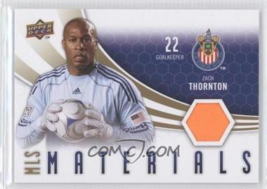 2010 Upper Deck - MLS Materials #M-ZT - Zach Thornton