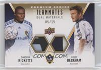 David Beckham, Donovan Ricketts #/15