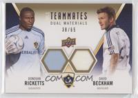 David Beckham, Donovan Ricketts #/65