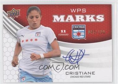 2010 Upper Deck - WPS Marks #WM-CH - Cristiane /100