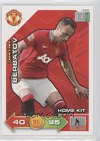 Home Kit - Dimitar Berbatov