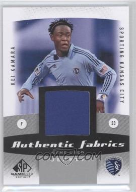 2011 SP Game Used Edition - Authentic Fabrics #AF-KK - Kei Kamara