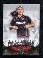 Authentic Newcomers - Alex Morgan #/499