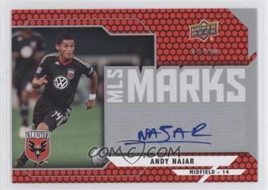 2011 Upper Deck - MLS Marks #MM-AN - Andy Najar