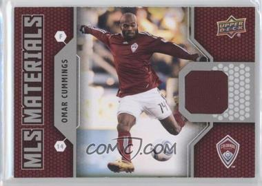2011 Upper Deck - MLS Materials #M-OC - Omar Cummings