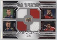 David Ferreira, David Beckham, Landon Donovan, Dwayne De Rosario /50
