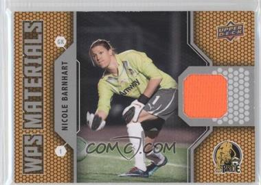 2011 Upper Deck - WPS Materials #W-NB - Nicole Barnhart