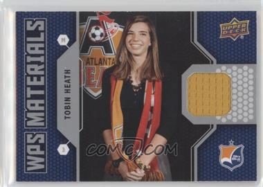 2011 Upper Deck - WPS Materials #W-TH - Tobin Heath