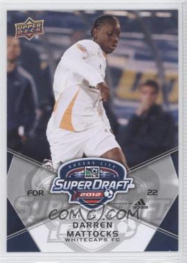 2012 Upper Deck MLS - [Base] #182 - Darren Mattocks